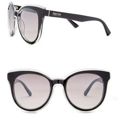 c855937b2a5 Kenneth Cole Reaction Women s Acetate Square Injected Sunglasses