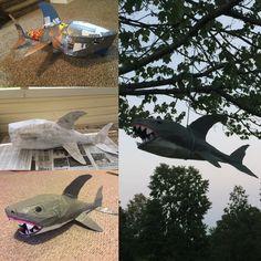 Shark piñata :)
