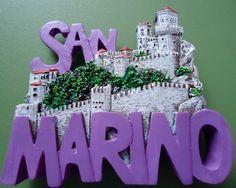 San Marino Italy Fridge Magnet Magnes na lodówkę