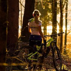 Through the trees, over the roots, around the stumps... the single track trail meanders through the forest. Every fork offering an opportunity to turn the bike around... still I go deeper.
