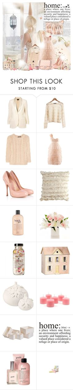 """""""All the beauty I see , Ain't nothing compared to you..."""" by cup-cake-gurl ❤ liked on Polyvore featuring TIBI, H&M, Vivienne Westwood, Chanel, philosophy, Dollhouse, Zara, Gianna Rose Atelier, WALL and Anthropologie"""