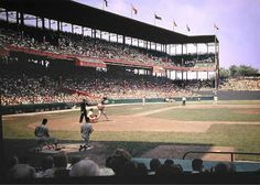 Sportsman's Park in St. Louis is where my dad first taught me about the Cardinals and baseball.
