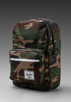 1271eb6a2199 HERSCHEL SUPPLY CO. Pop Quiz Backpack in Woodland Camo at Revolve Clothing  - Free Shipping