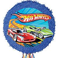 Hot Wheels Pull String Pinata from Party City