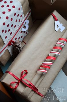 8 SIMPLE GIFT WRAPPING IDEAS WITH BROWN PAPER - Place Of My Taste