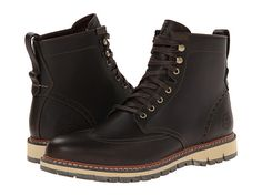 Timberland Earthkeepers® Britton Hill Wing Tip Boot Waterproof Dark Brown Smooth - Zappos.com Free Shipping BOTH Ways