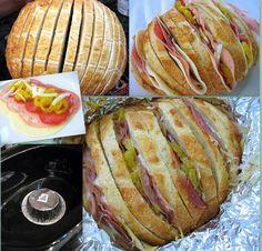 Crock Pot Grinders - Slice it, Stuff it, Wrap it, Leave it!... oh... then eat it :)