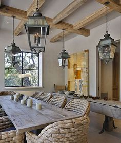 For outdoor, covered eating. Erin Martin Design - Projects