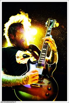 Brent from Mastodon.. Its wrong how hot I think this guy is.. Head tattoos and all