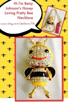 Betsy Johnsons Honey Bee Necklace And 10$ Worth Of Free Gifts