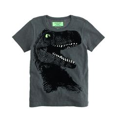 J.Crew+-+Boys'+glow-in-the-dark+T-rex+tee