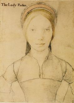 Hans Holbein the Younger, c. 1540-43 - - - Grace Newport, Lady Parker