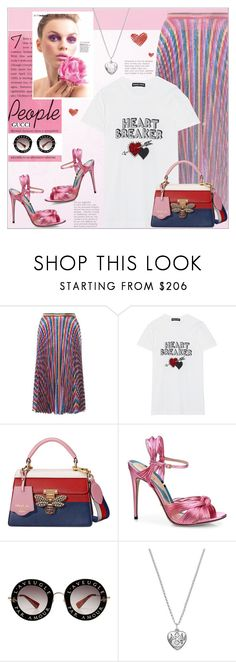 """"""" GUCCI """" by alves-nogueira ❤ liked on Polyvore featuring Gucci and Markus Lupfer"""
