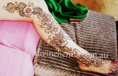 Image result for henna leg