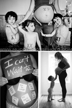 süße Inspiration für Babybauch Shooting: Mädchen oder Junge #Fotoshooting…