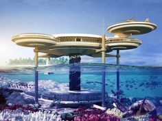 Dubai's first (and the world's largest) underwater hotel.  For when my backpacking days are over.  And my fortune from teaching has reached critical mass.