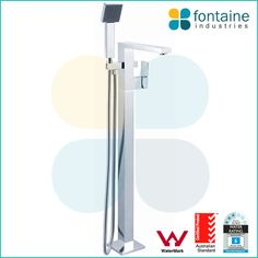 Avila Freestanding Bath Mixer Tap with Handheld Head | Renovation Design Ideas Affordable | Fontaine Industries |