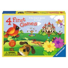 Four First Games by Ravensburger