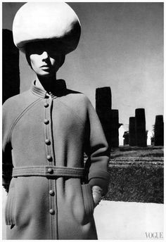 "UK Vogue September 1st, 1965 ""Spain"" Model: Jennifer O'Neill Photographer: Helmut Newton"