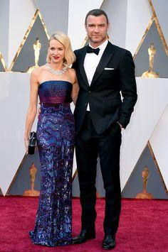 Naomi Watts and actor Liev Schreiber
