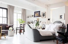 Mix and Chic: Vincent Wolf's beautiful NYC loft!