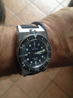 The ultime diving watch Triton (valve 500 mt) 2015