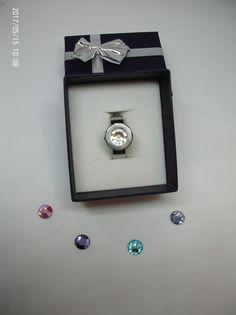 Ringe - Ring mit wechselbaren Swarovski-Elementen - ein Designerstück von ToChri bei DaWanda Belly Button Rings, Designer, Swarovski, Jewelry, Ring, Schmuck, Jewlery, Jewerly, Jewels