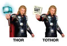 to #thor