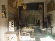 Gugong - Imperial Palace Museum - Inner Court - Palace Eternal Spring -Palace Interiors