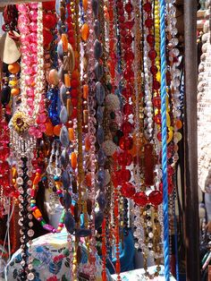 beads.....what can be better than a whole wall of them? hee hee
