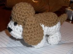 """Free pattern for """"Hound Dog Pup"""" by Sheep of Delight!"""