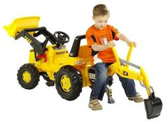 CAT Backhoe Loader...... I can see a nice xmas gift for  P & R !!!