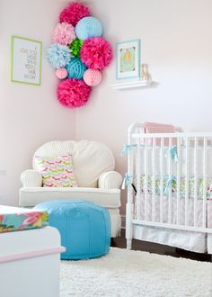 colorful nursery - neutral gender
