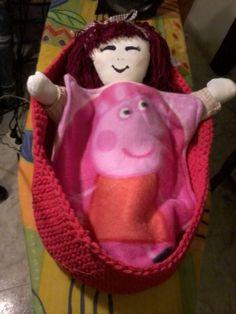 la muñeca en su capazo