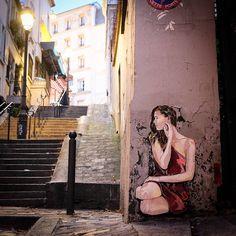 Wall in Paris by Jana & JS.