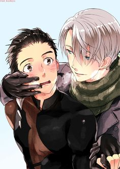 Viktor and Yuuri | Yuri!!! on Ice