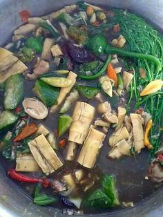 Kang nor mia Delicious and vegetarian lao food Edamame, Broccoli, Malay Food, Cambodian Food, Laos Food, Exotic Food, Asian Cooking, International Recipes, I Love Food