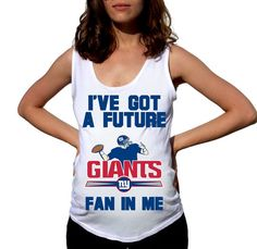 New York Giants Baby New York Giants Shirt Women by FreshBreak