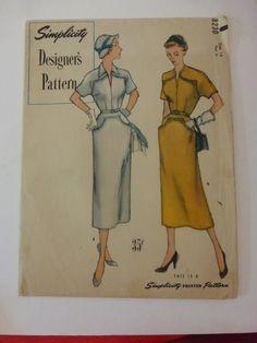 Vintage Simplicity Designers Pattern 8230 by VintagePatternDrawer, $14.95