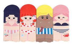 Go Beach Big kids and Women Funny Low Cut Socks 4pairs 1pack intype socks★amazon.com☆vikini