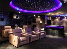 zenginlerin ev sinemaları