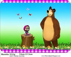 Masha é uma pequena menina de 3 anos, bagunceira e que sempre arma confusões frequentemente passeia sozinha atrás de brincar com os anima...