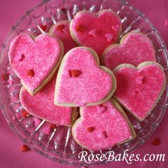 Valentines Cookies:  Royal Icing Recipe and Cookie Recipe