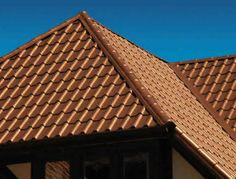 Copper Tile Roof