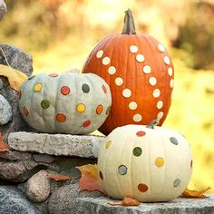 10 No Carve Pumpkin Decorating Ideas - My Tuesday {ten} No. 17 - bystephanielynn