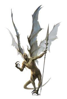 Gaav - Host Devil - Pathfinder PFRPG DND D&D d20 fantasy