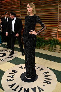 Taylor Swift - Vanity Fair Oscar party.