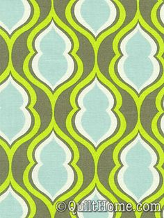 Nicey Jane HB22-Moss Fabric by Heather Bailey