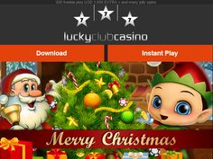 Lucky Club Casino - Huge Christmas Bonuses