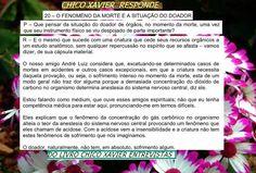 BIOGRAFIAS E COISAS .COM: CHICO XAVIER RESPONDE